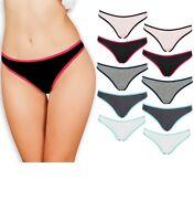 Women's Underwear Thong Panties | Lot of 3-10 | Hip Hugging Panties | Comfortab