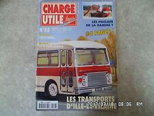 CHARGE UTILE N°83 11/1999 TPS ILLE ET VILAINE POCLAIN GAMME T MASSEY HARRIS  K38