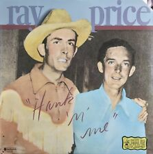 RAY PRICE Hank 'n' Me VINYL LP Original 1976 USA LP Sings Hank Williams EX