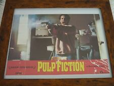 Pulp fiction Classic scen European Lobby card over sized original Quality framed