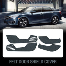 Felt Door Shield Cover Scratch Kick Protector Set for HONDA 2017 - 2018 Civic