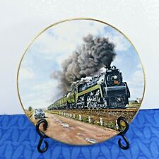 C. Bell AGE of STEAM CNR Railroad collector plate #3 NO CONTEST!  Ted Xaras MINT