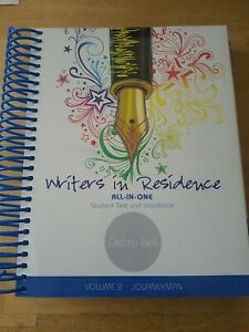 Writers In Residence Volume 2 Journeyman All-in-One Student Text And Workbook...