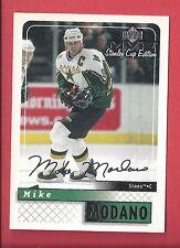 1999-00 Upper Deck MVP Stanley Cup Edition Silver Script 58 MIKE MODANO