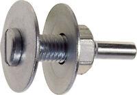 Poggi art 335.00 perno di fissaggio attacco 10x6 mm mole dischi abrasivi
