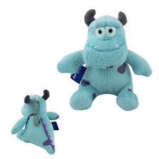 "Cute ! Cartoon Monster INC SULLEY 9cm/3.6"" Keychain Soft Plush Doll Toy"