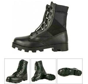 Mens Outdoor Tactical Boots Military Army Combat Patrol Work Boots Hunting Shoes