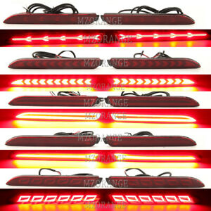LED Brake Light Rear Bumper Reflector Driving Fog Lamp for Toyota RAV4 2019 2020