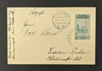 1915 KUK Feldpost 150 Austria Hungary Military Postcard Cover Overprint