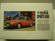 """A.R.I.I. 1/32 Scale 1965 Toyota S800 Model Kit -New """"Owners Club Series"""" # 41012"""