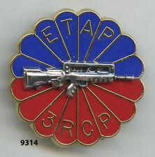 Insigne , 3   Rgt. de Chasseurs Parachutistes  / ETAP. , (  FAMAS ).