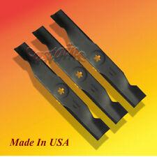 "/& other 54/"" 14391 Husqvarna 521981501 Blades LOT of 3 52/"" CUT on Model 5221"