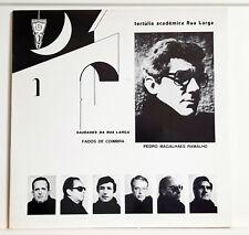 FADO - TERTULIA ACADEMICA RUA LARGA - SAUDADES DA RUA - RT - ED. PORTUGAL 1982