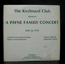 A Payne Family Conert - May 24, 1979 2 LP VG+ AR-579 Ohio Private Press 1979 USA