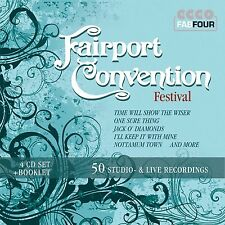 Fairport Convention - Festival: 50 Studio- & Live 4CD