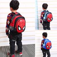 Kids Waterproof Avengers Spiderman School Bag Backpack Boys Child Rucksack Gifts