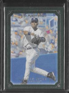 2007 UD Masterpieces Derek Jeter NY Yankees Windsor Green Frame Parallel Card