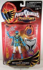 Power Rangers Mystic Force Blue Mystic Light Ranger Action Figure Bandai 2006