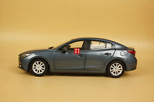 1/18 2014 new Mazda 3 AXELA model blue color + gift