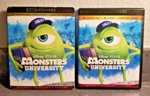 Authentic Disney: Monsters University (4K + Blu-ray + Digital w/Slipcover)   LN