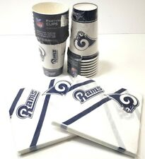 NFL L.A Rams Paper Cups Napkins Party Supplies