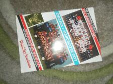 1986 FULL MEMEBERS CUP FINAL CHELSEA V MANCHESTER CITY   N