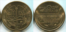 T644 Seattle Washington 1962 World Fair Century 21 Exhibition 1 Dollar UNC token