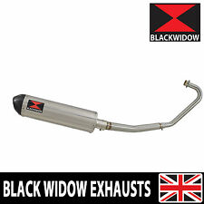 Honda CBF125 2008-2016 Exhaust System Stainless + Carbon Silencer 400ST
