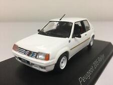Norev Peugeot 205 Rallye 1988 Meije White 1/43 471750 1019