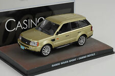 Película James Bond Range Rover Sport / Casino Royale 1:43 IXO