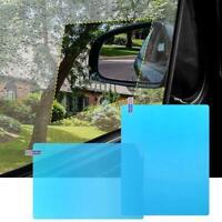 2Pcs Car Side Window Glass Film Waterproof Anti Fog Rain Proof Film Universal AU