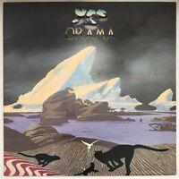 YES DRAMA LP ATLANTIC UK 1980 ORIGINAL ORANGE GREEN LABELS EX+ FAST DISPATCH