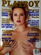 Mint Play B Magazine May 1999 Charlize Theron Ben Stiller Janeane Garofalo David