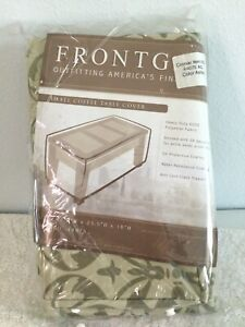 FRONTGATE Small Coffee Table Cover. Style #: 44075. Color: Ashley. NEW.
