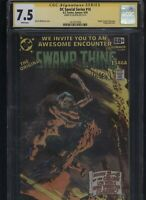 DC Special Series #14 CGC 7.5 SS Len Wein SWAMP THING Bernie Wrightson 1978