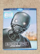 ROGUE ONE: A STAR WARS STORY (Blu Ray + DVD + Digital HD) (Walmart Exclusive)