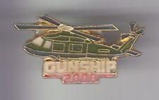 RARE PINS PIN'S .. AVION PLANE HELICOPTERE JEU VIDEO GAMES PC GUNSHIP 2000 ~D3