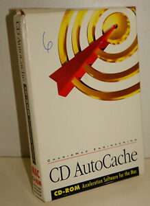 CharisMac CD AutoCache Vintage Macintosh Software -- COMPLETE IN BOX