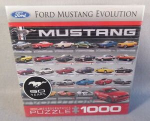 American Muscle Car Evolution Eurographics Puzzle 1000 Pieces 6000-0682 NEW