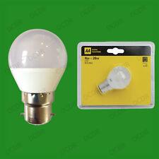 4W BC B22 LED Mini Golf Ball G45 Instant On Round Light Bulb Lamp Globe AA Brand