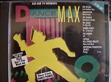 Dance Max 9 (1992) Jon Secada, Undercover, Bass Bumpers, Yello, Dr. Alb.. [2 CD]
