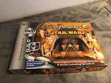 Trivial Pursuit Star Wars Saga Edition With DVD Complete Board Game
