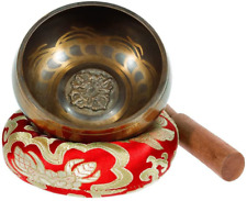 Singing Bowl - Exqline Silent Mind Tibetan Singing Bowl Set 11.5 CM, Great For M