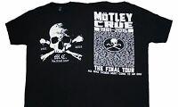 MOTLEY CRUE - Skull Crossbone Final Tour - T SHIRT S-M-XL-3XL New Official