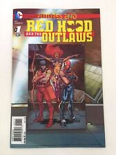 DC COMICS NEW 52 FUTURES END RED HOOD AND THE OUTLAWS ONE-SHOT LENTICULAR COVER