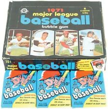 1971 Topps Baseball Cards (1 - 376) - Pick The Cards to Complete Your Set