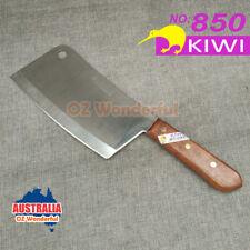 "KIWI 8"" Bone Cleaver Kitchen Knife KNIVES Wooden Handle Blade KIWI850"
