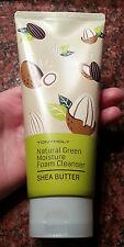 Tony Moly NATURAL GREEN Moisture Foam Cleanser, 180 mL SHEA BUTTER