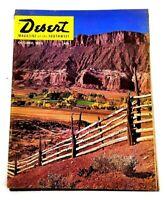Vintage October 1962 Desert Magazine of the Southwest Cactus Palms Off-Roading