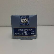 RoC Multi Correxion 5 in 1 Restoring Anti Aging Facial Night Cream 1.7oz 48g